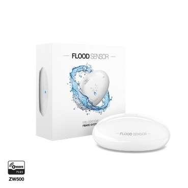 détecteur d'inondation zwave fibaro fgfs-101 version-boite