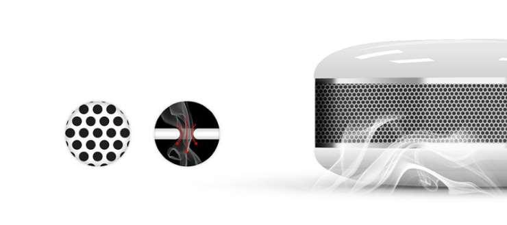 détecteur de fumée z-wave-plus fibaro fgsd-002 smoke sensor
