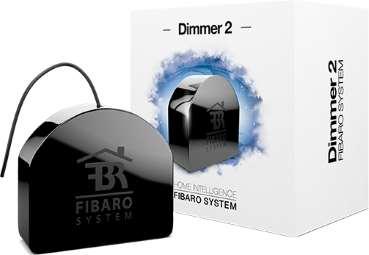 Fibaro fgd-212 dimmer 2 zwave interrupteur variateur lumière box