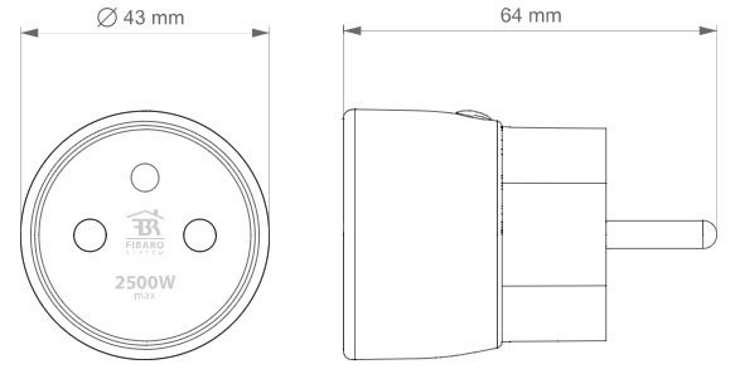 prise-zwave+-fibaro-FGWPE-105-ZW5-dimensions