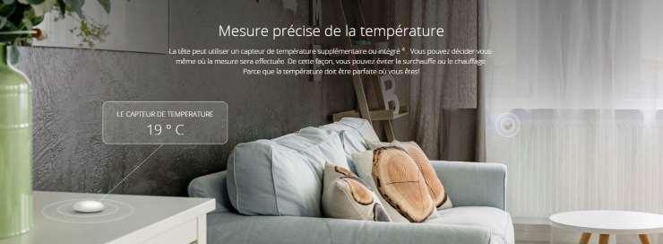 sonde température bluetooth Fibaro FGBRS-001 mesure température déportée