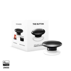 Fibaro FGPB-101 zwave bouton de commande the button noir Box