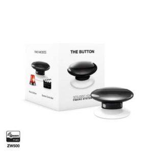 Fibaro FGPB-101 zwave bouton de commande the button noir Box