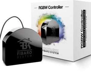 Fibaro fgrgb-101 zwave micromodule éclairage basse tension changement couleur box