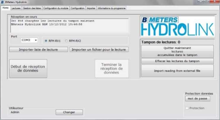 Antenne USB M-Bus pour télérelevage des compteurs sferaco 1749007 logiciel