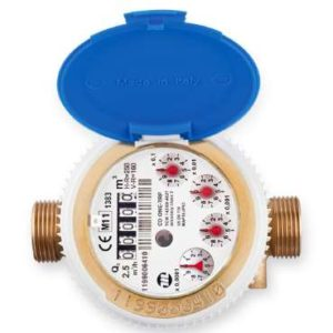 compteur divisionnaire Maddalena pré équipé émetteur d'impulsion MID-R160 compteur eau photo produit