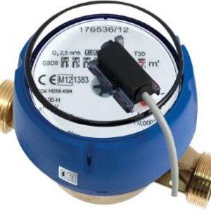 compteur eau divisionnaire à émetteur d'impulsions MID R100 Sferaco photo produit eau froide