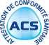 compteur eau divisionnaire à émetteur d'impulsions MID R100 Sferaco conforme ACS