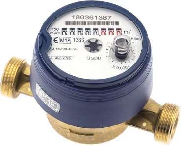 Compteur eau divisionnaire Sferaco MID R100 logo photo produit eau froide