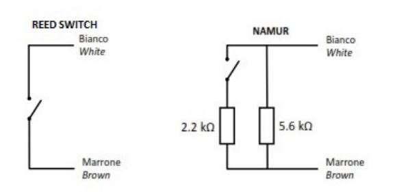 Maddalena émetteur impulsions ref 2749030 pour compteur eau schéma électrique