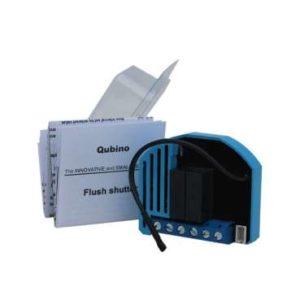 Qubino Flush Shutter ZMNHCD1 micromodule pour volet roulant Z-Wave Plus avec mesure de consommation photo produit