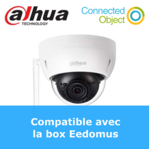 caméra d'extérieur WIFI Dahua DH-HDBW1320E-W compatible Eedomus