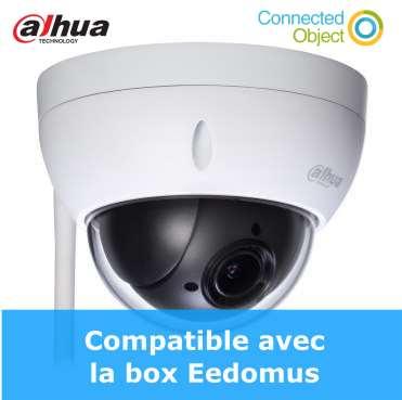 caméra motorisée extérieur WIFI Dahua DH-SD22404T-GN-W compatible eedomus