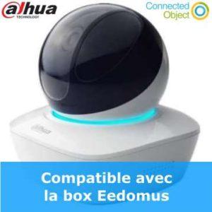 caméra Wifi intérieur 3MP intérieur DH-IPC-A35 motorisée compatible Eedomus
