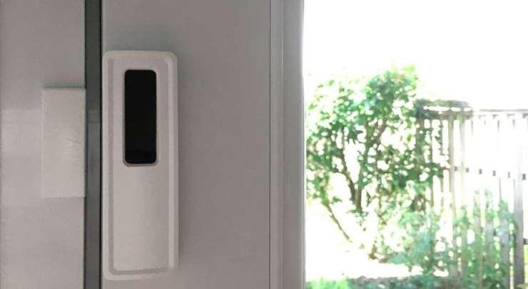 détecteur d'ouverture NodOn SDO-2-1-05 pour porte ou fenêtre EnOcean installation facile