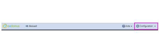 paramétrer le détecteur d'ouverture Fibaro FGDW-002 depuis la box domotique bouton configuration