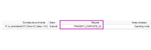 Réponse sur le paramètre 151 du micro module Roller Shutter 3 Fibaro FGR-223