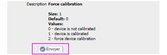 envoyer le paramètre 150 du micro module Roller Shutter 3 Fibaro FGR-223