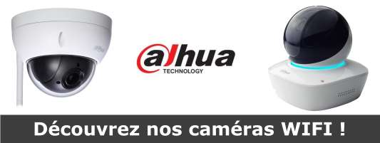 camera wifi Dahua compatible box domotique