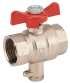 compteur énergie calories et frigories pour installation chauffage et climatisation Hydrocal M3 concentrateur MBUS vanne avec prise porte sonde