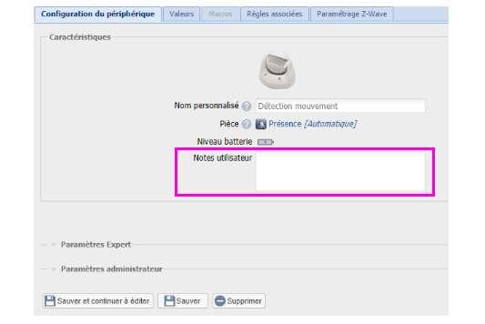 inclusion du détecteur de mouvement Everspring SP816 depuis la box domotique Eedomus ajouter un commentaire