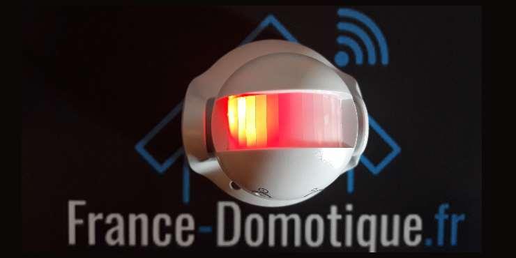 SP816-1 détecteur de mouvement Z-Wave extérieur Everspring capteur PIR voyant lumineux