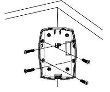 SP817 détecteur de mouvement Z-Wave intérieur Everspring capteur pir installation dans un coin d'une pièce
