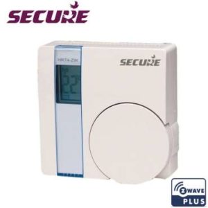 SRT 321 Thermostat d'ambiance Secure Z-Wave Plus sans fil photo produit
