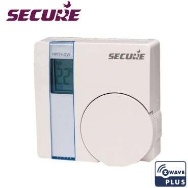 SRT 321 Thermostat d'ambiance Secure Z-Wave Plus sans fil photo produit