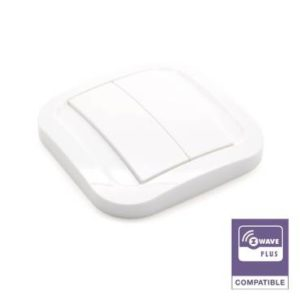 Interrupteur Z-Wave Plus Nodon Wall Switch CWS-3-1-01 Sans-fil photo produit